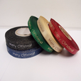 2 or 20 metres 10mm Merry Christmas Satin Ribbon Xmas Roll Craft Double Side